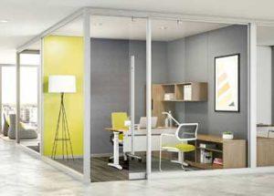 Nos hemos pasado con el espacio abierto en las oficinas - Dinof