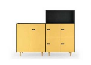 Reciclaje en la oficina con diseño: VolumArt - DINOF