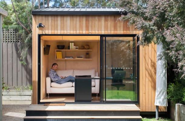 TENDENCIAS: Una oficina en tu jardín - DINOF